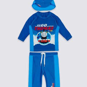 3 Piece Thomas & Friends Swim Outfit (3 Months - 5 Years)