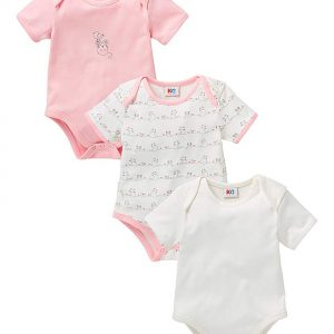 Baby Pack of Three Bodysuits
