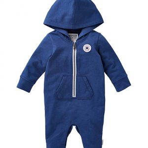 Converse Baby Boy Hooded Romper