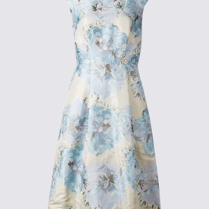 M&S Collection Floral Print Skater Dress