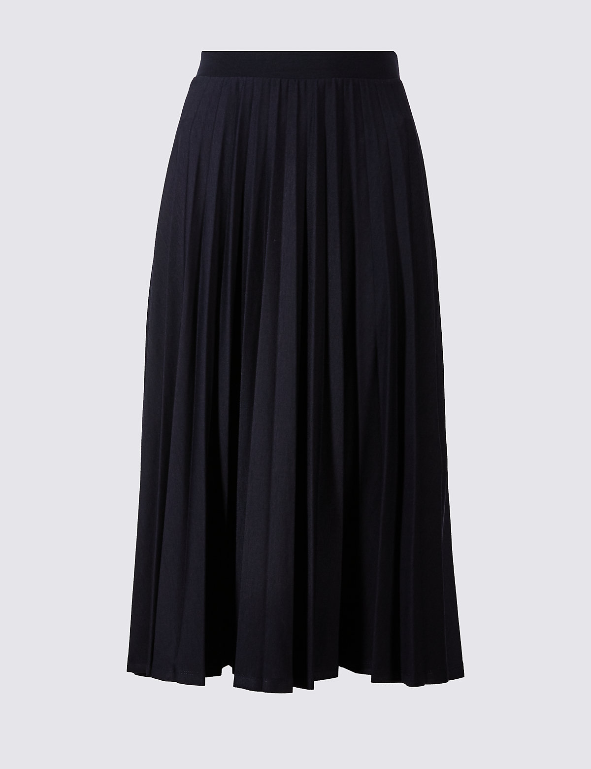 compare cheap m s collection pleated a line midi skirt